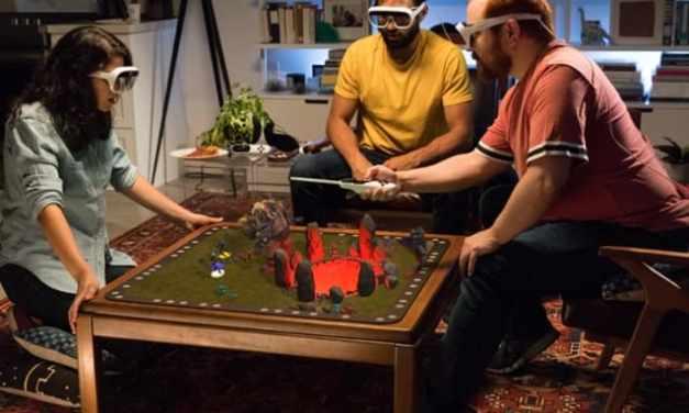 El sistema AR trae a la mesa juegos de mesa holográficos