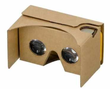 gafas de cartón de realidad virtual