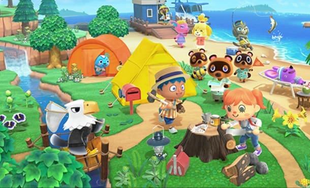 conectarse con los amigos en Animal Crossing New Horizons