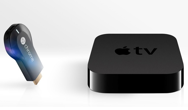 diferencias entre chromecast y apple TV