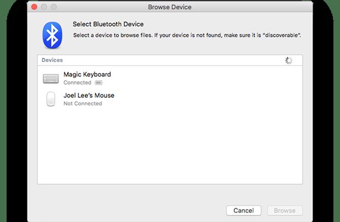 mac default app bluetooth