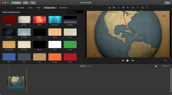 iMovie App Mac-My Project