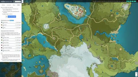 Genshin Impact, mapa interactivo: la herramienta definitiva para su exploración
