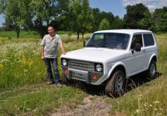 A fantastic re-imagining of an old Lada ...