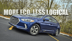Review:  2017 Hyundai Elantra Eco Gets Driven, Hard