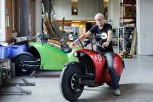Electric Motorcycle Doubles As Residential Storage Battery