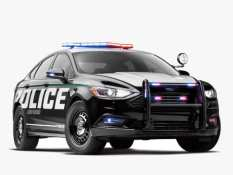 Ford Fusion Becomes First Hybrid Police Cruiser