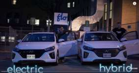Jakob And Yuri's Excellent Adventure -- Side By Side Hyundai Ioniq Hybrid Vs EV Comparison