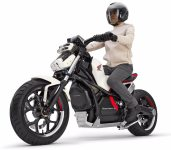 "Self Balancing ""Ride Assist-e"" Motorcycle From Honda"