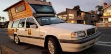 Found on Craigslist:  Volvo 850 Tiny House in San Fran