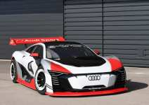 Audi Debuts 815 HP e-tron Electric Supercar