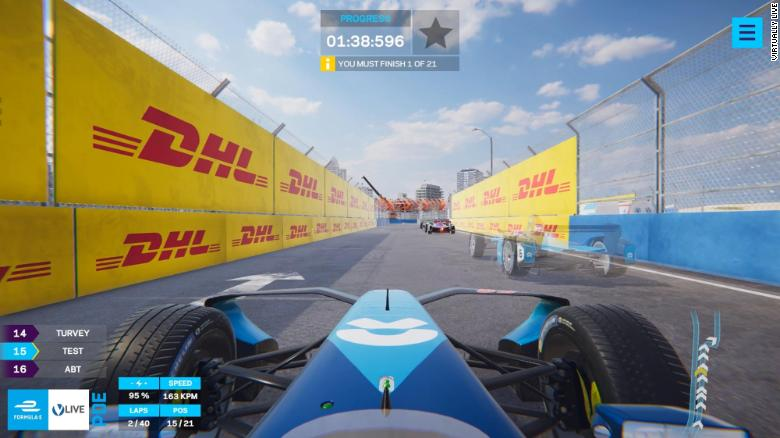 New Formula E Game Puts You in the Race – LIVE
