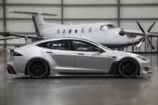 Tesla Model S Widebody Launched at SEMA