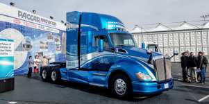 Toyota Partners With Kenworth To Develop Next Generation Hydrogen Trucks #CES2019