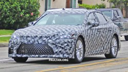 Hydrogen Fuel-cell Lexus LS for 2021 Spied
