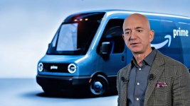 Amazon Commits to Renewable Energy, Orders 100,000 Rivian Electric Vans