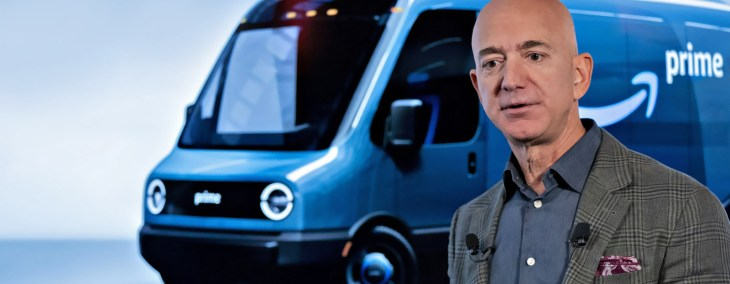 Jeff Bezos - Amazon Orders 100,000 Electric Delivery Vans