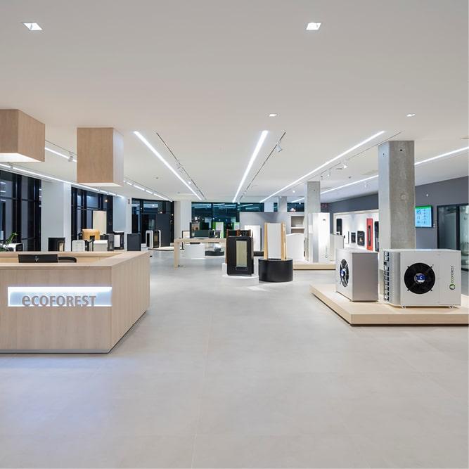enrgi GmbH – Firmengebäude Ecoforest