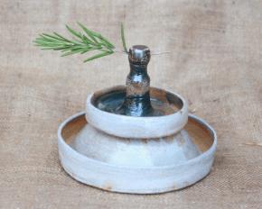 set cotto a gas in riduzione con effetto sale