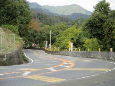 比叡山ドライブウェイまでの山中越ヘアピンカーブ