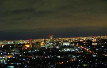 大阪 箕面の夜景