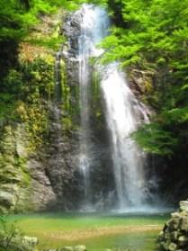 minoh-falls summer