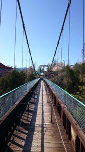 天界苑の吊り橋