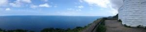 経ケ岬灯台からの眺め