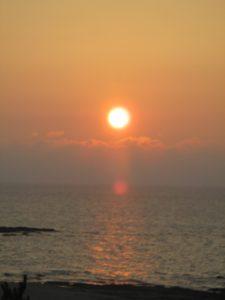 京丹後 琴引浜の夕日