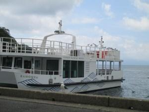 伊根湾めぐりの遊覧船