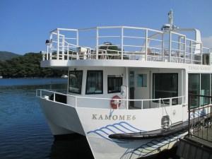 伊根湾遊覧船のKAMOME6号