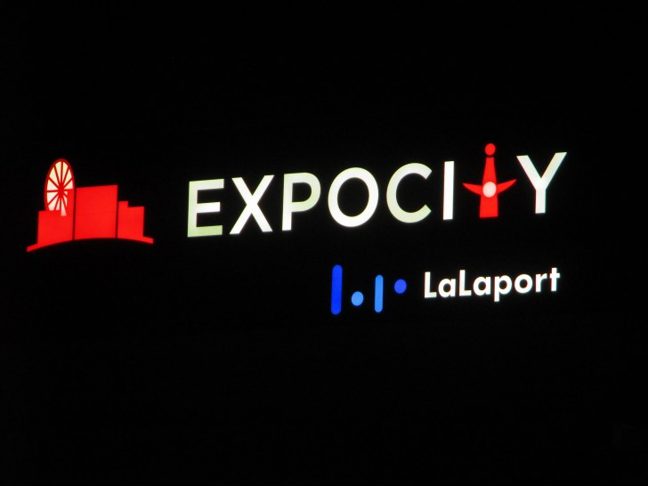 EXPOCITY LaLaport ロゴ