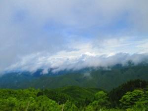 上矢作風力発電所からの景色