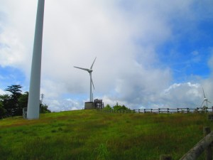 上矢作風力発電所 展望台