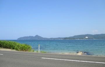京丹後 海沿いの道