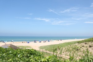 琴引浜の砂浜は美しい