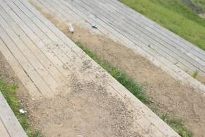 池田山 吸い殻やゴミ