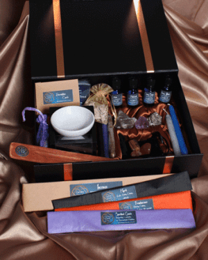 Enriching Elements Gifts for Life Advanced Meditation Pack is designed for those who are practiced at meditation. It contains all the elements to Protect, Guide and Transport for the most rewarding meditative journey.