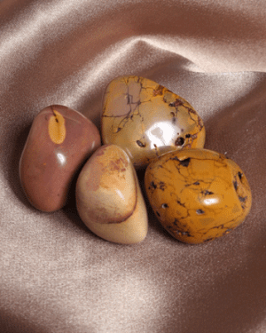 Enriching Elements gifts for life Crystals Mookaite tumbled