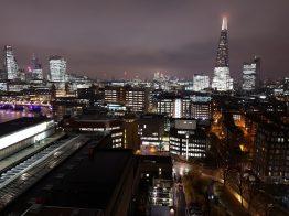 The Shard (grattacielo costruito da Renzo Piano) visto dal Tate Modern