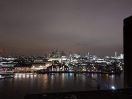 Vista della cattedrale di St. Paul dal Tate Modern