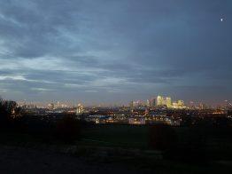 La City vista dal parco