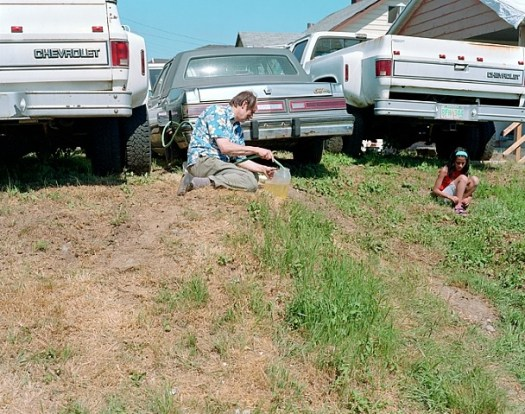 "Jeff Wall, ""Siphoning Fuel"""