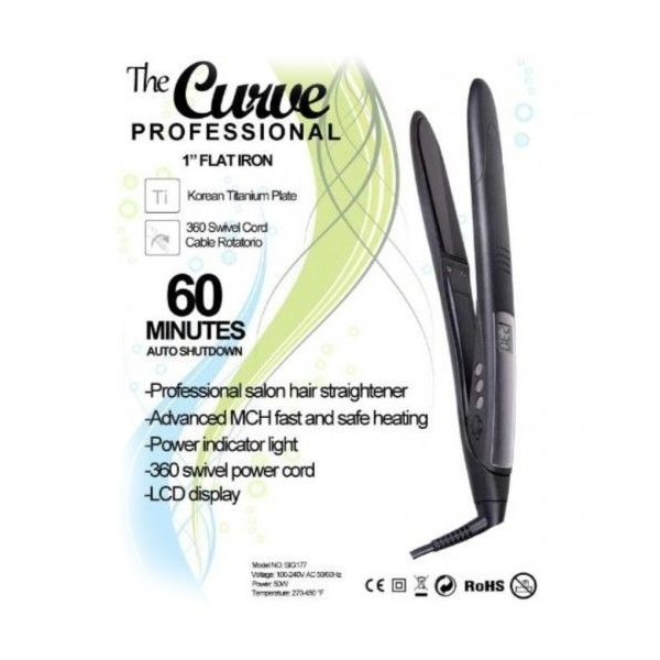 The CURVE Professional 2 1 Flat Iron FREE SHIPPING