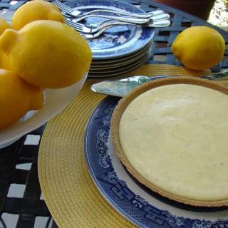 Joe's Key Lime Pie with no limes (lemons instead)