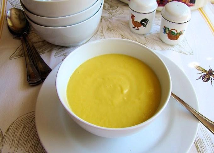 yellow squash soup