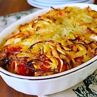 Tomato & Yellow Squash Tian