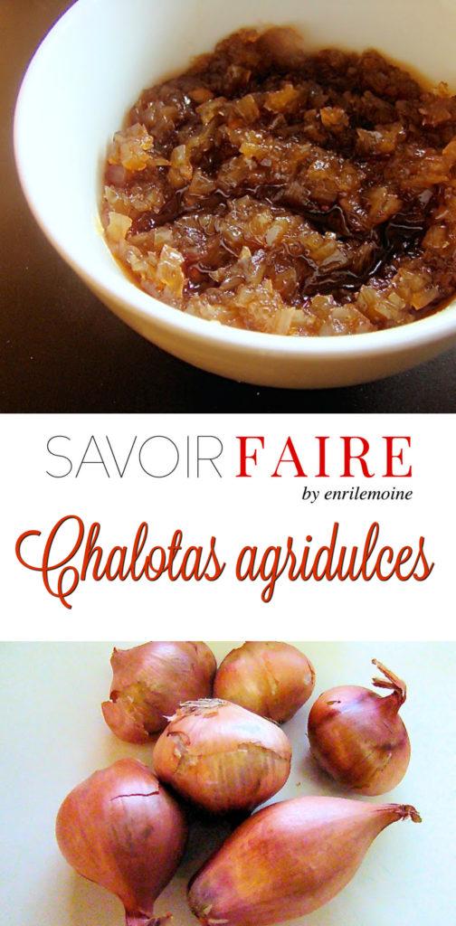 Chalotas agridulces - SAVOIR FAIRE by enrilemoine