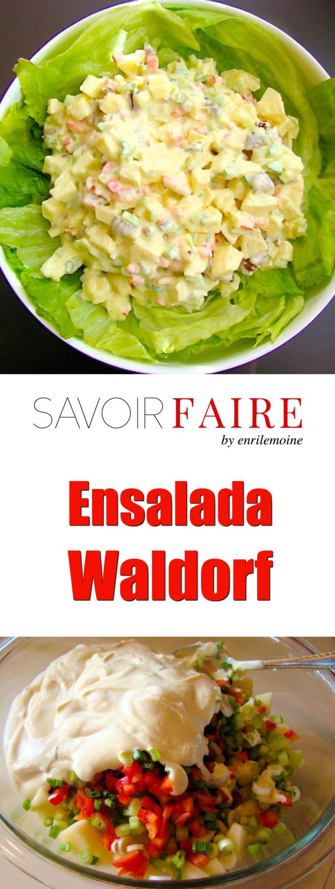 Ensalada Waldorf - SAVOIR FAIRE by enrilemoine
