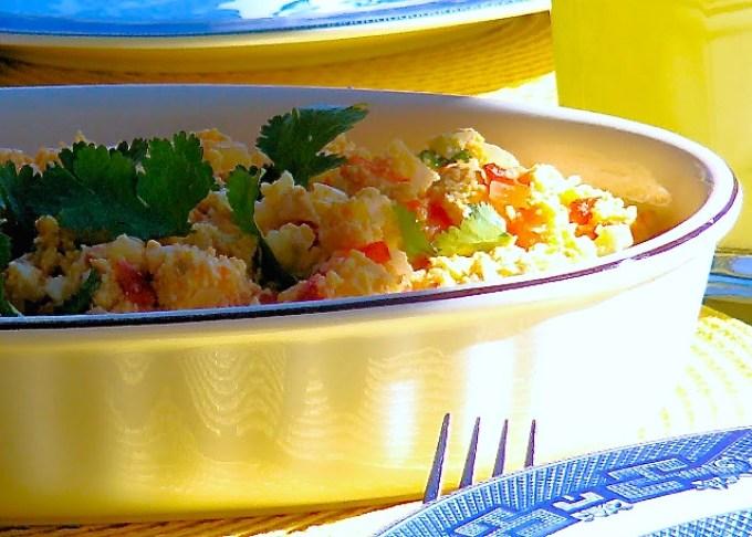 Perico: Scrambled Eggs with Sofrito - SAVOIR FAIRE by enrilemoine